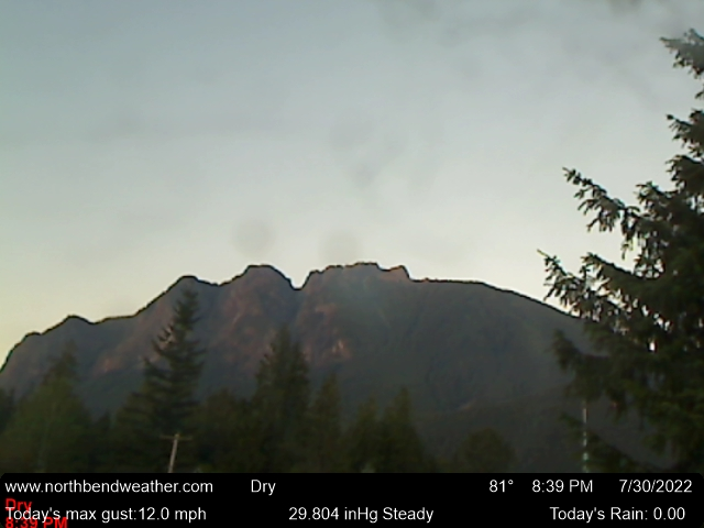 North Bend Web Cam