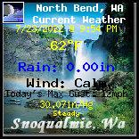 Current Weather Conditions in North Bend, Wa